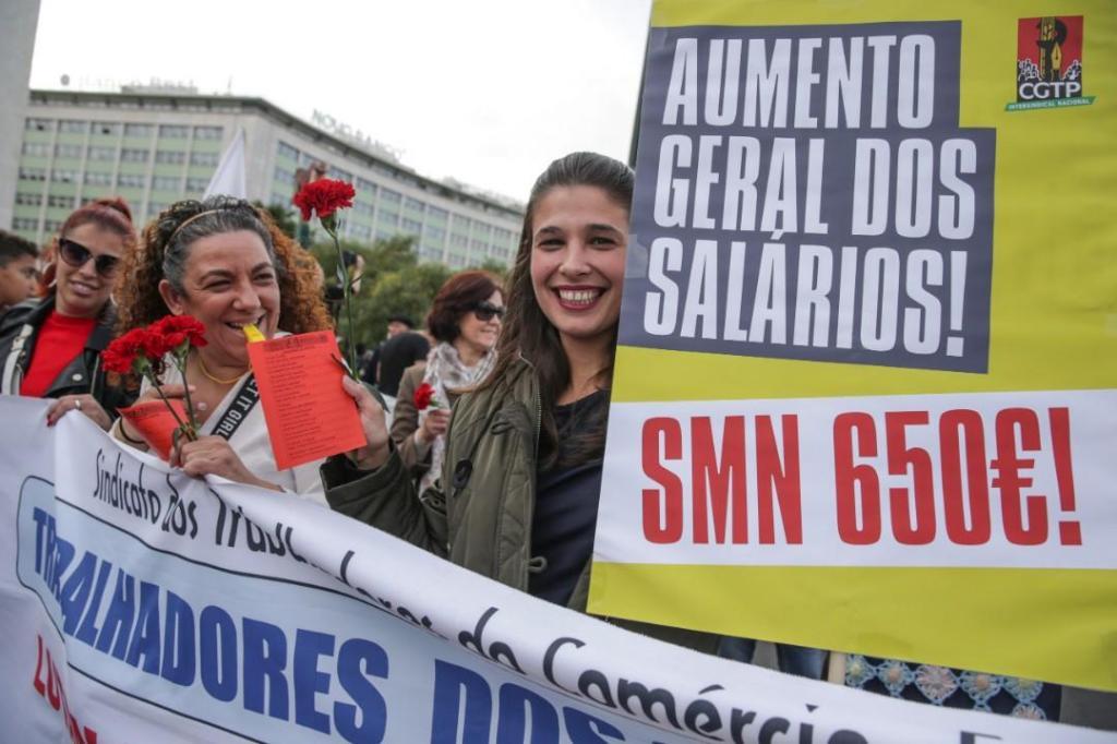 Milhares de trabalhadores manifestaram-se em Lisboa