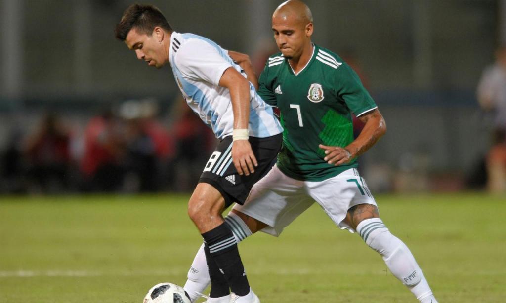 Argentina vs México (Reuters)