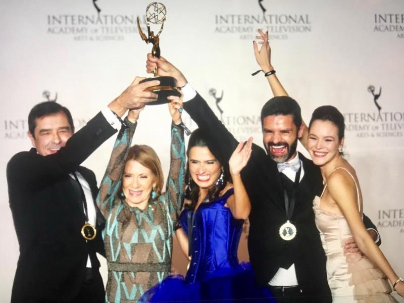 TVI em festa nos EUA com vitória do Emmy para telenovela