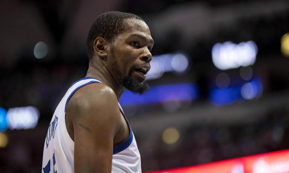 Kevin Durant: «Às vezes odeio a NBA e o circo que a rodeia»