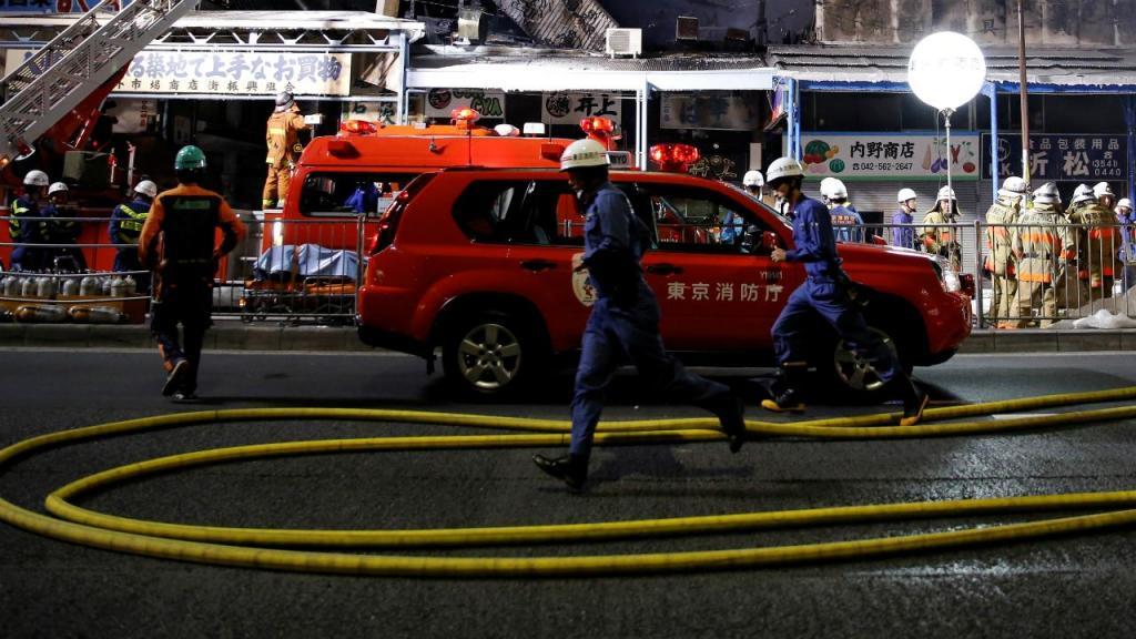 Bombeiros - Japão