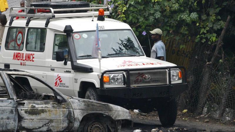 Haiti - Ambulância