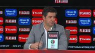 Rui Vitória explica a não aposta em Ferreyra: «Ele ia jogar»
