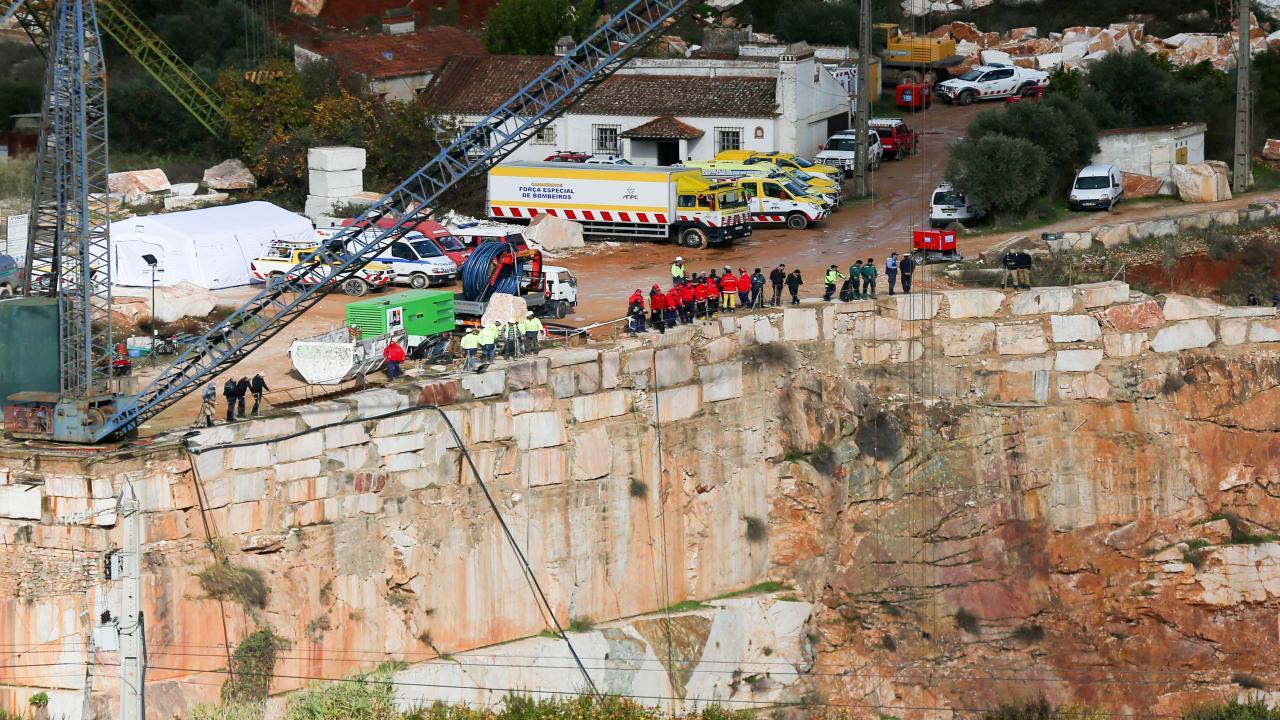 Borba: estrada continua fechada um ano depois do acidente na pedreira - TVI24