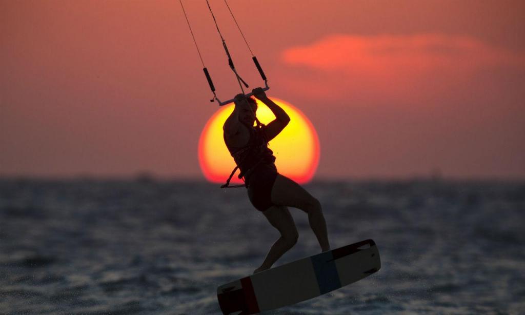 Kitesurf (Reuters)