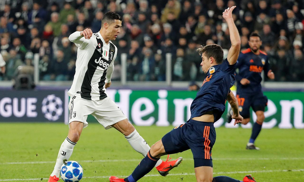 f0c70a81f3 Champions  Ronaldo assiste e apura Juventus para os oitavos ...