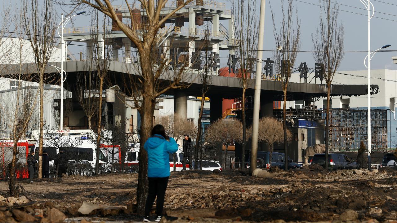 Explosão em Zhangjiakou