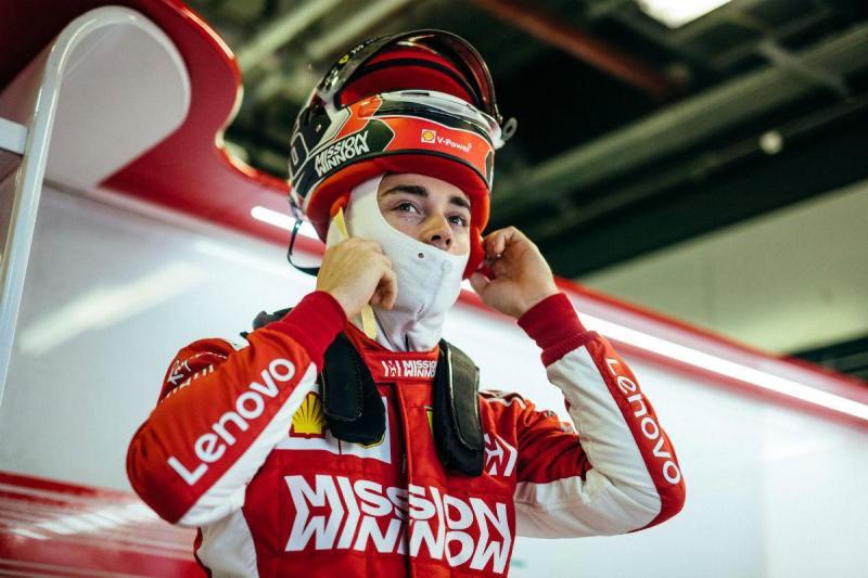 Charles Leclerc (imagem Ferrari)