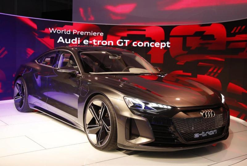 Salão de Los Angeles - Audi e-tron GT concept (Lusa)