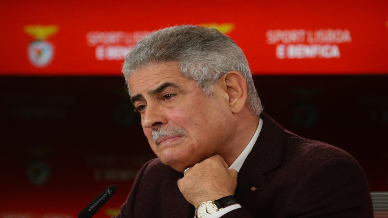 Luís Filipe Vieira, presidente do SL Benfica