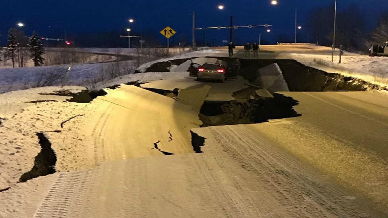 Sismo em Anchorage