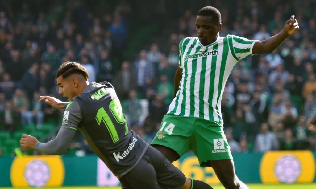 Betis-Real Sociedad (EPA/Raul Caro Cadenas)