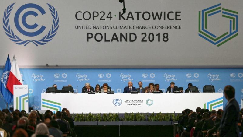 Líderes mundiais na cimeira do clima COP24