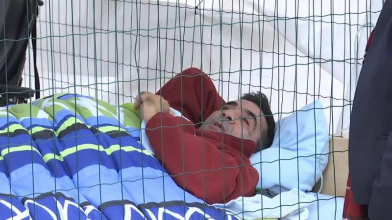 Eduardo esteve dois dias numa jaula para ser ouvido pelo Governo