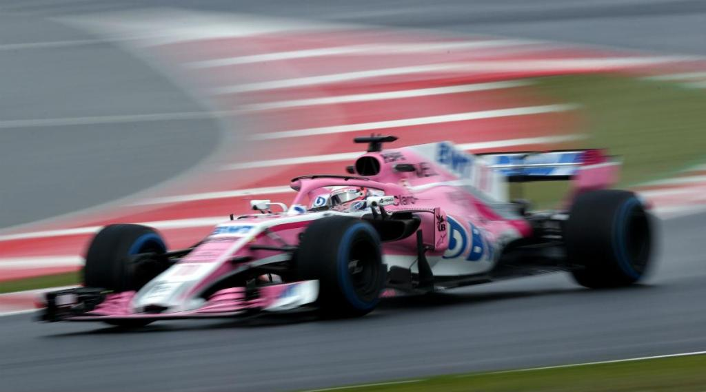 Force India (Reuters)