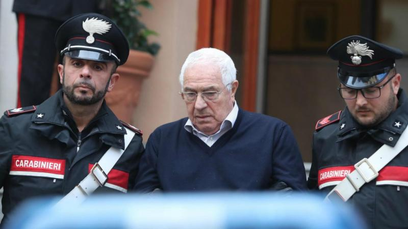 Settimino Mineo detido