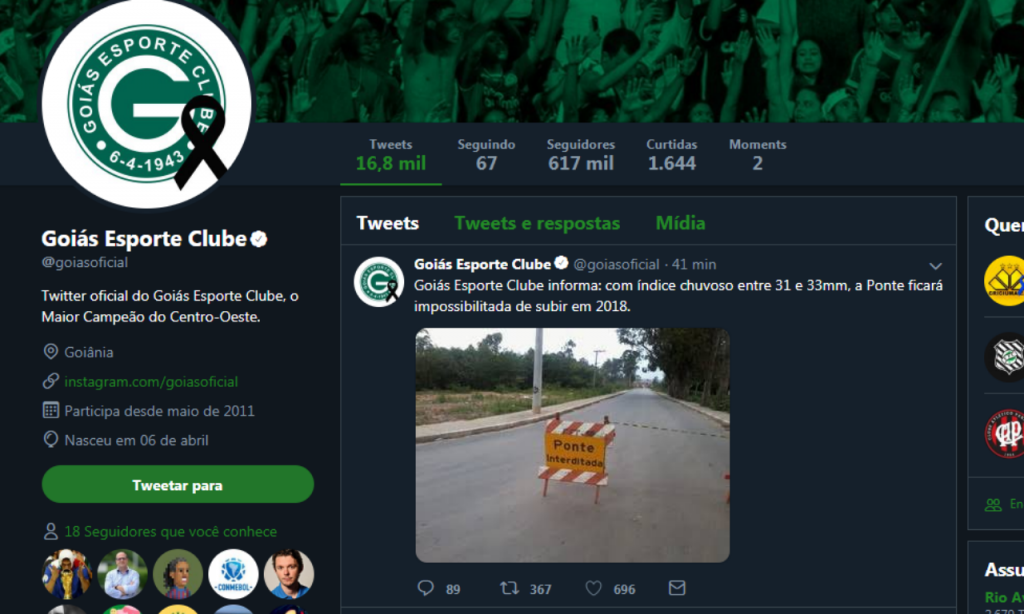 Goiás Twitter