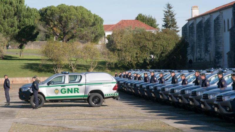 Novas viaturas da GNR