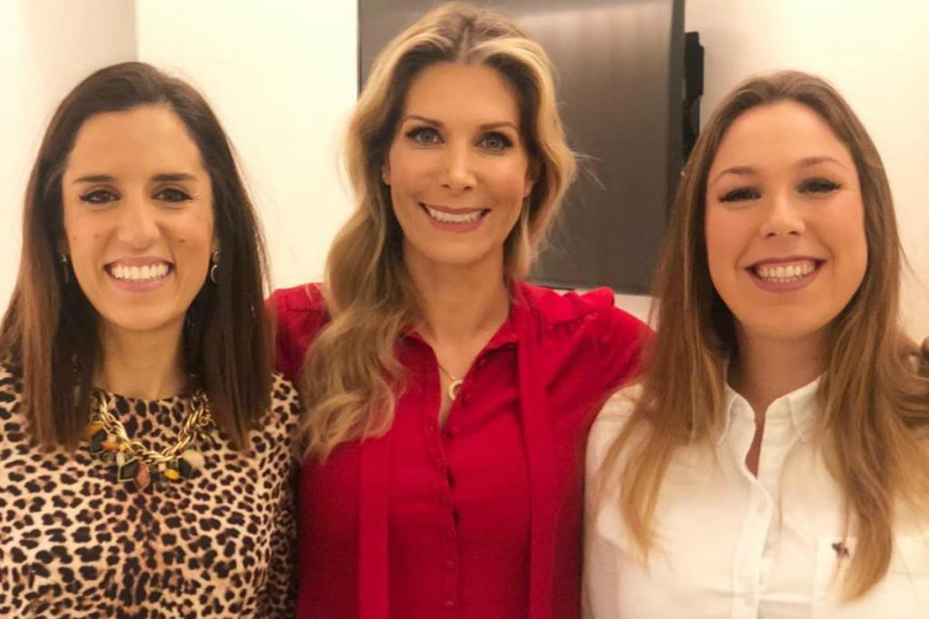 Dra. Alice Varanda Pereira, Joana Madeira e Dra. Luísa Magalhães Ramos