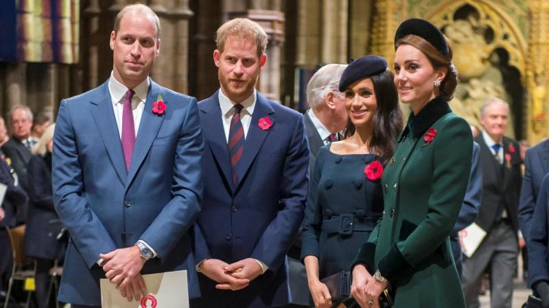Duques de Cambridge e de Sussex