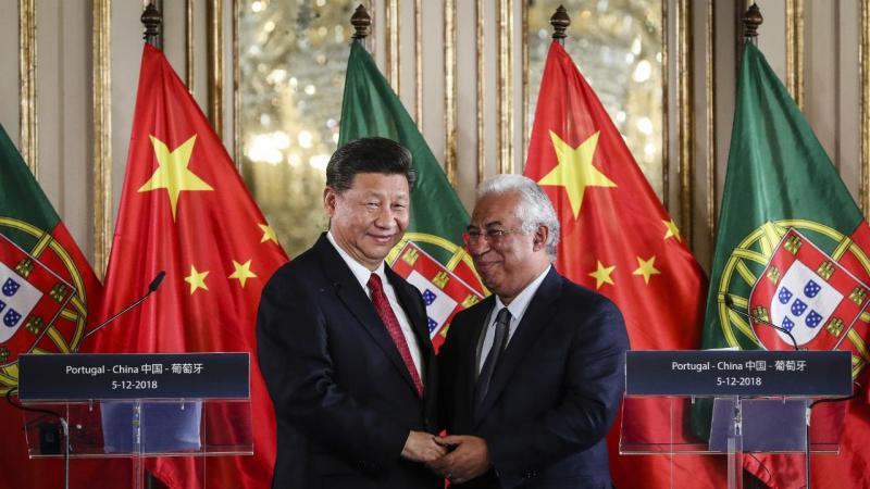 Xi JInping e António Costa