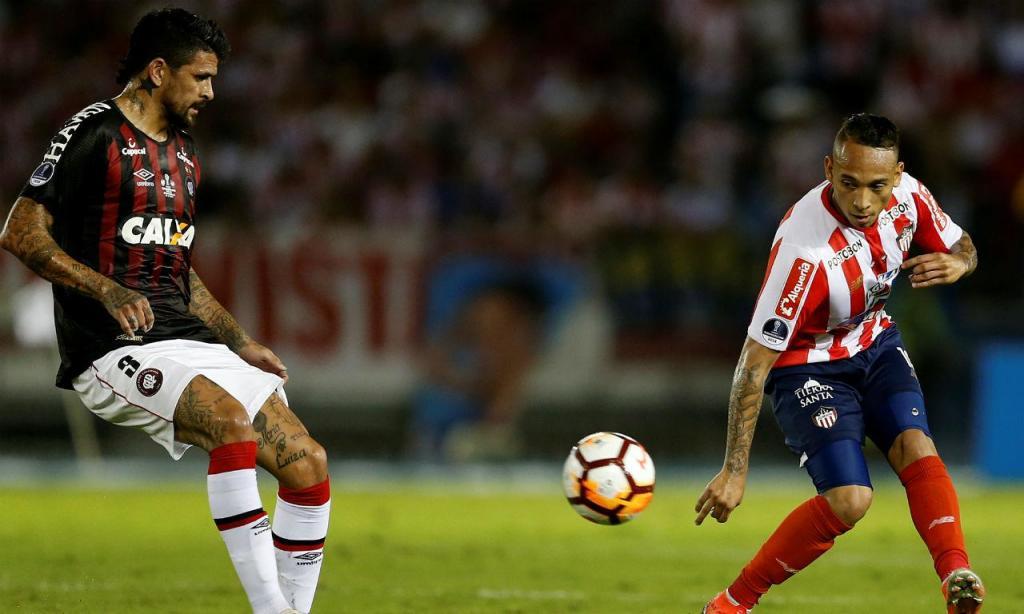Atlético Paranaense-Junior Barranquilla (Reuters)