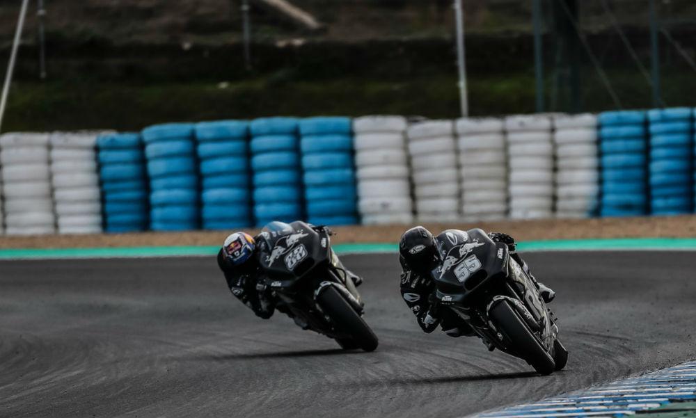 Hafizh Syahrin e Miguel Oliveira (KTM Tech 3)