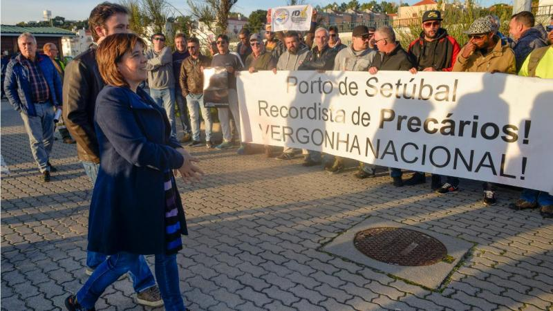 Catarina Martins - Porto de Setúbal