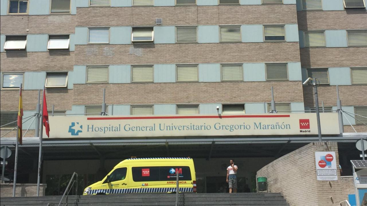 Foi de uma janela do quarto andar do Hospital Gregorio Marañon, em Madrid, que um português tentou escapar