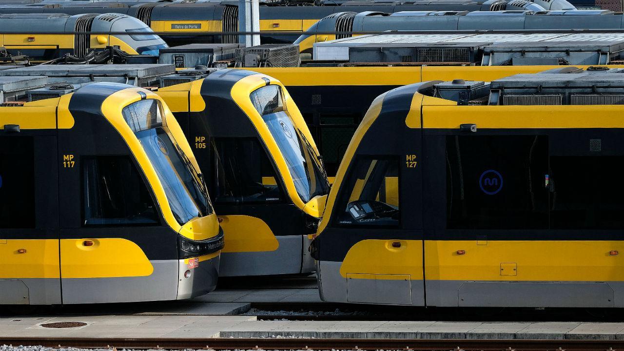 Greve no Metro do Porto