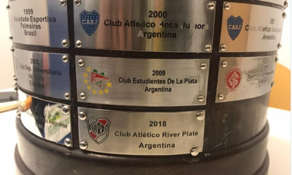 Taça Libertadores (foto: twitter CONMEBOL)