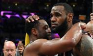 Dwyane Wade e LeBron James (Jayne Kamin-Oncea-USA TODAY Sports)