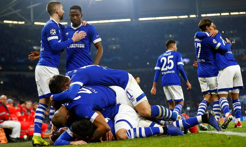 Schalke-Lokomotiv Moscovo