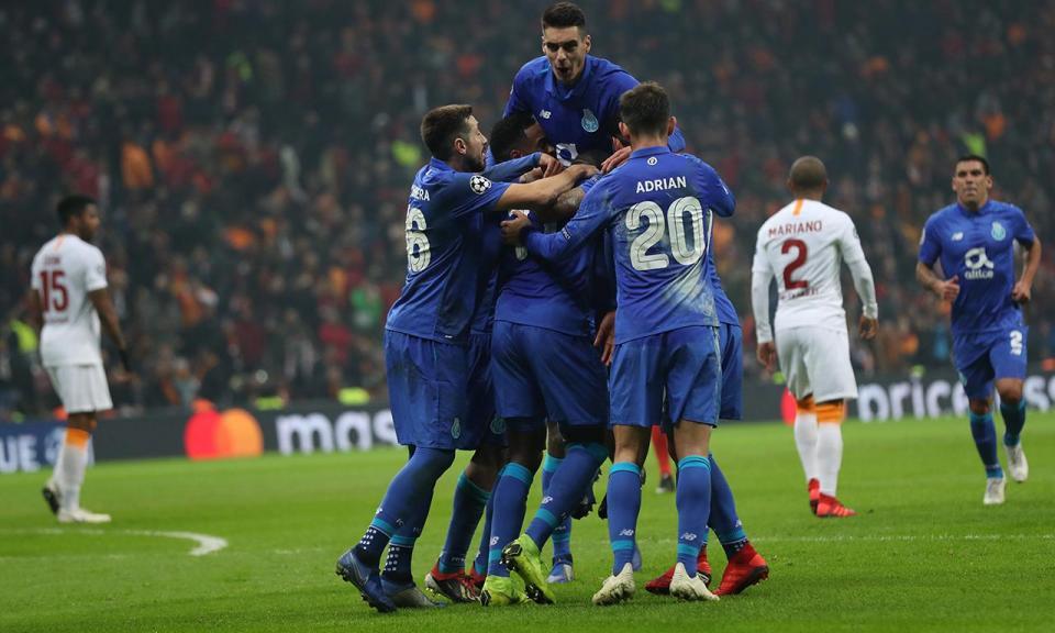 FC Porto líder também nas receitas europeias