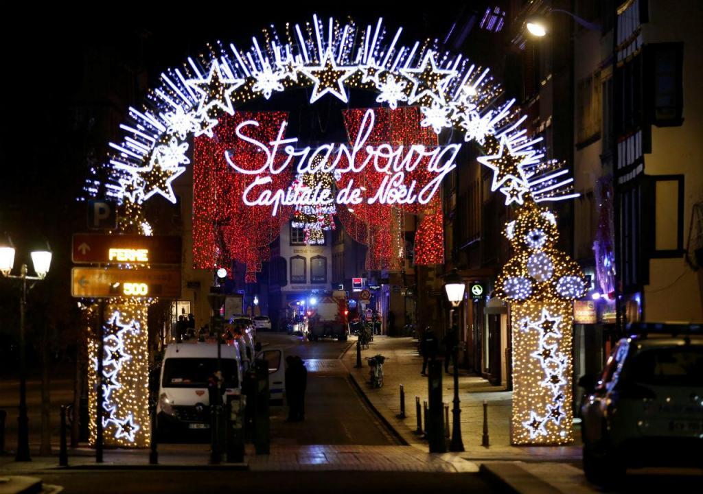 Tiroteio em Estrasburgo
