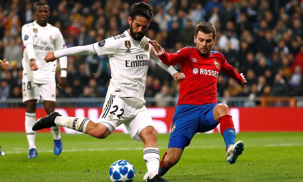 Real Madrid-CSKA Moscovo