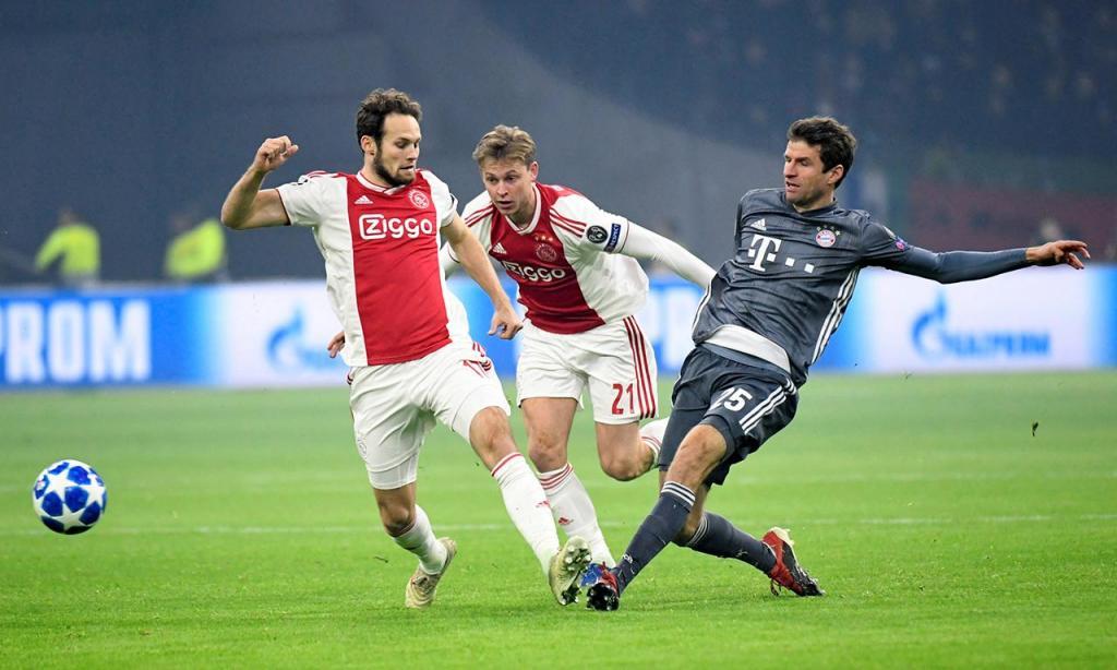 Ajax-Bayern Munique