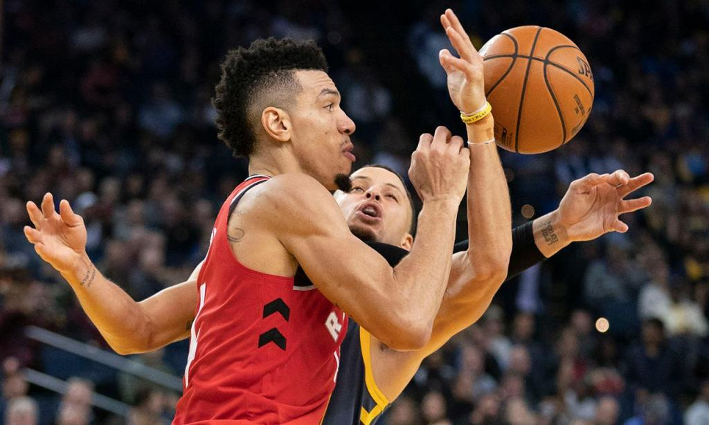 NBA: Raptors surpreendem Warriors em Oakland