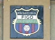 Placa Figo Camp Nou