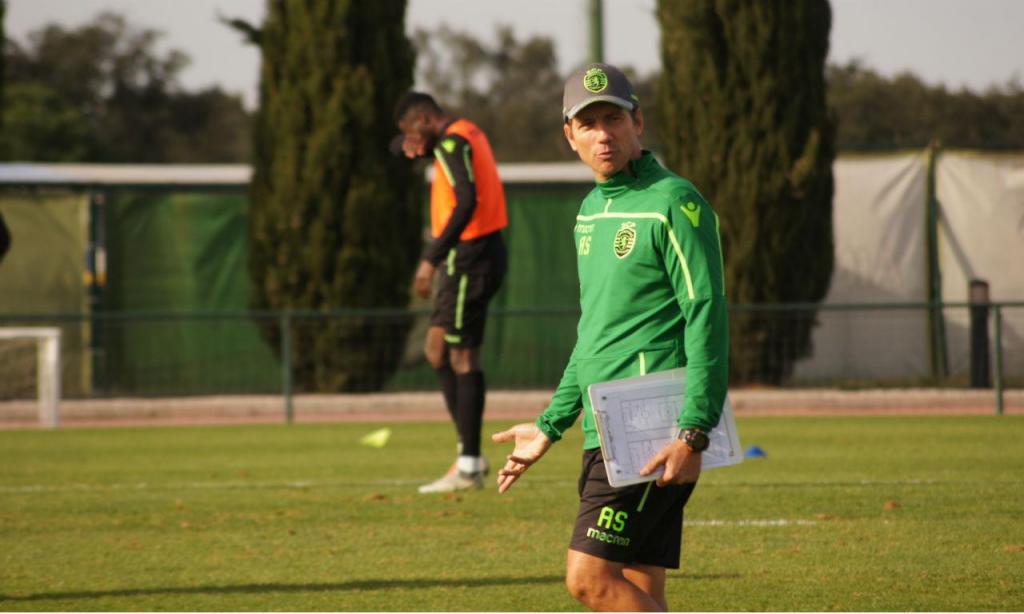 Alexandre Santos, Sporting sub-23 (Fonte: Sporting)