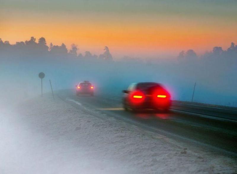 Condução sob nevoeiro