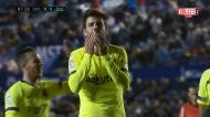 Piqué rouba numa área e com jogada «à Messi» vai marcar na outra