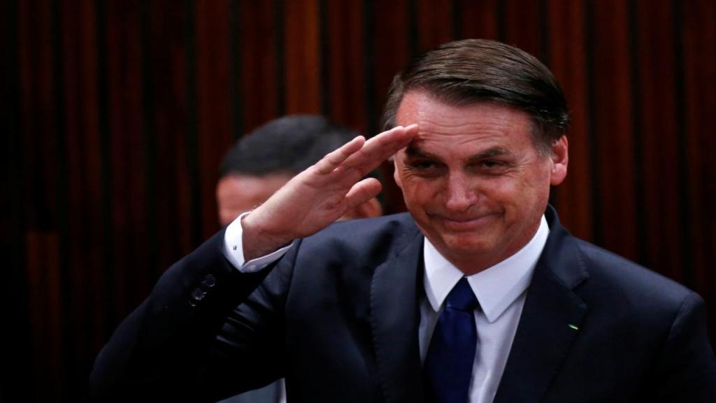 O capitão Jair Bolsonaro