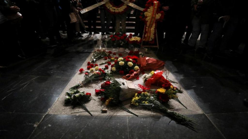 O túmulo de Francisco Franco no Vale dos Caídos