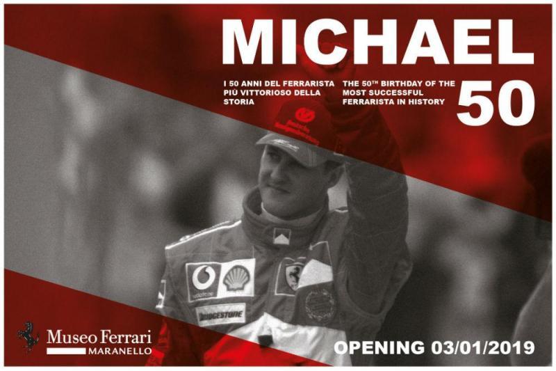 Exposição Michael Schumacher
