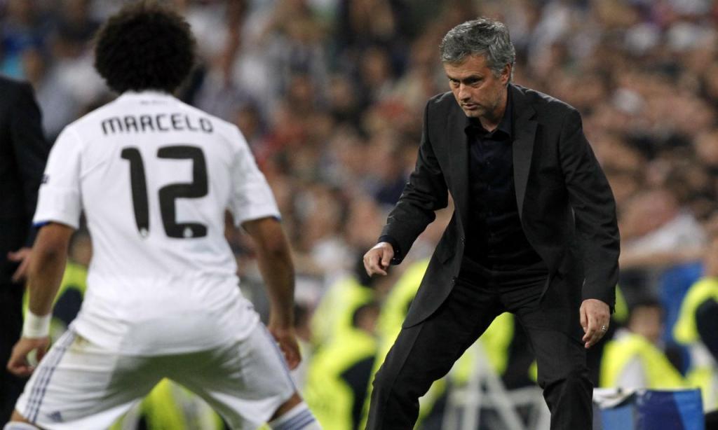 Marcelo e José Mourinho (Reuters)