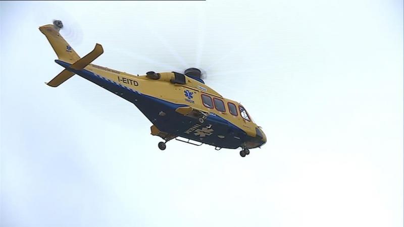 A fita do tempo da queda do helicóptero do INEM