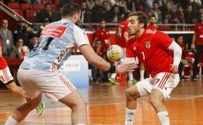 VÍDEO: Pedro Seabra termina ligação à equipa de andebol do Benfica