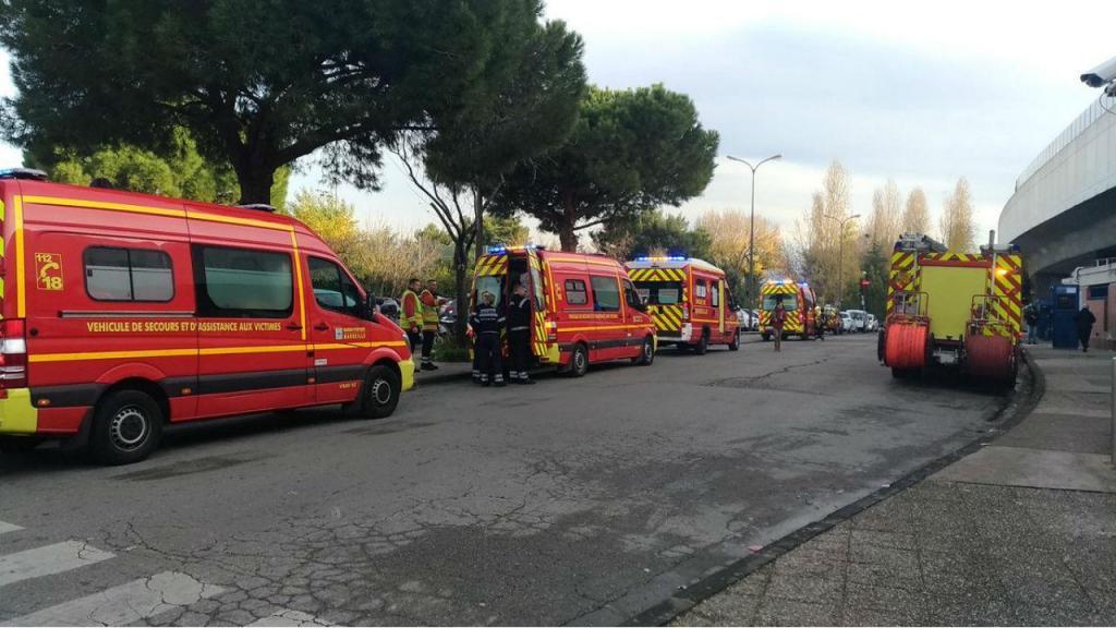 Acidente com composição do Metro em Marselha