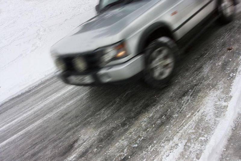Condução sobre gelo